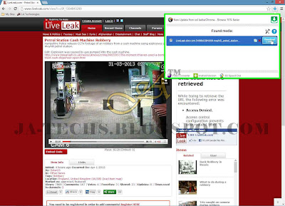 Download LiveLeak Videos Tutorial - Step 5