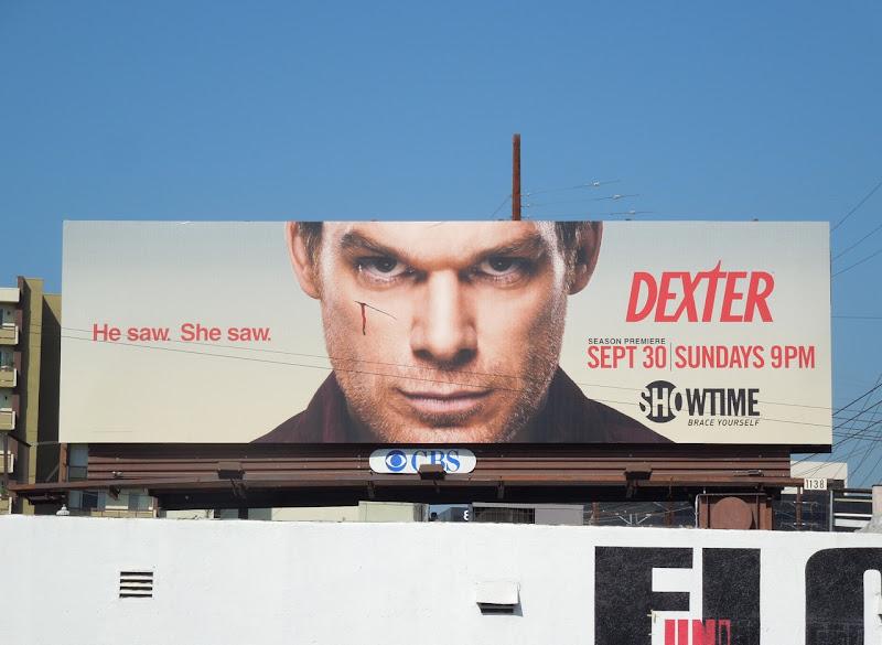 Dexter season 7 Showtime billboard