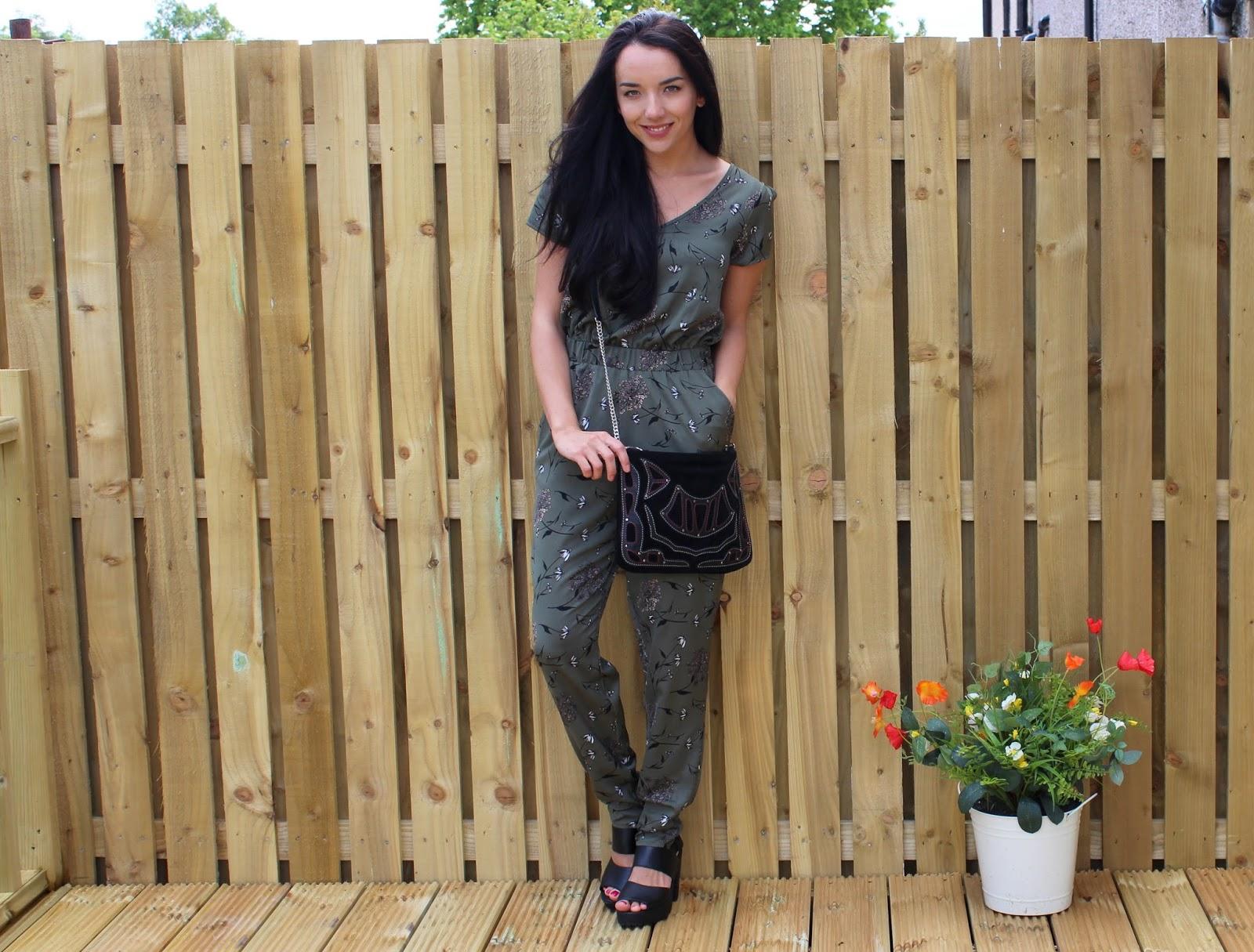 Khaki Jumpsuit Outfit
