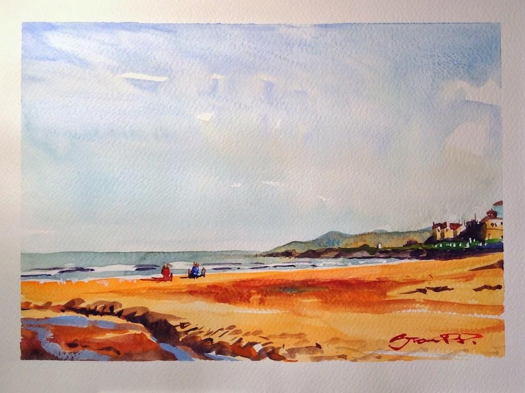 """Beach Strolling"" Twelve Bays of Christmas 6/12"