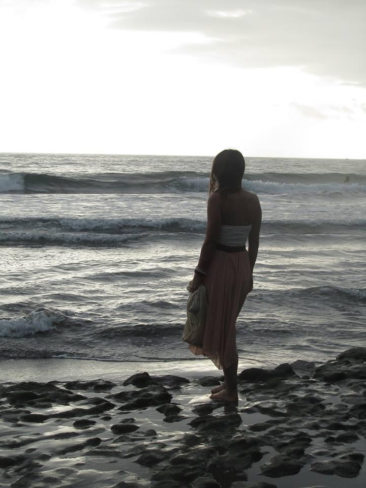 woman on the beach, Yoga, Rebecca Kovacs