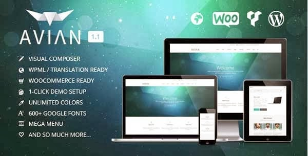 Avian WordPress Theme Presented by TipTechNews
