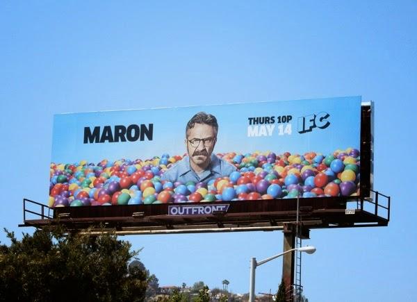 Maron season 3 IFC billboard