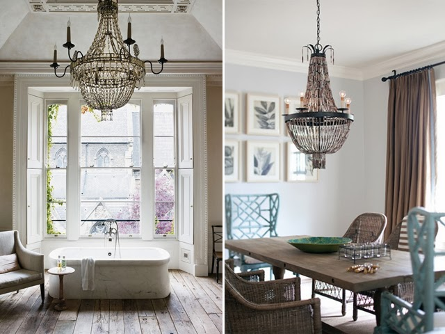 KP decor studio: Lamparas de cristal ** French crystal chandeliers
