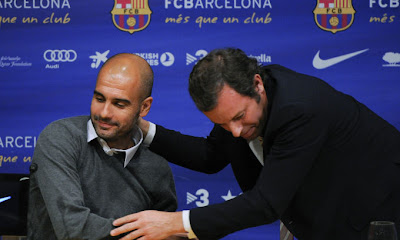 guardiola addio barcellona