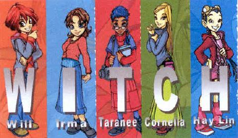las witch will irma taranee cornelia hay lin: