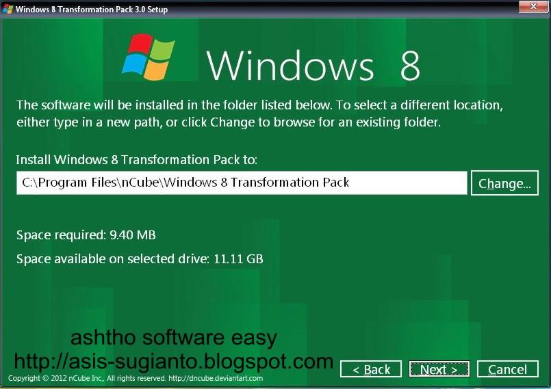 Cara Mengubah Tampilan Windows XP Menjadi Windows 8