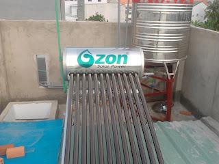 Máy nước nóng năng lượng mặt trời Ozon solar
