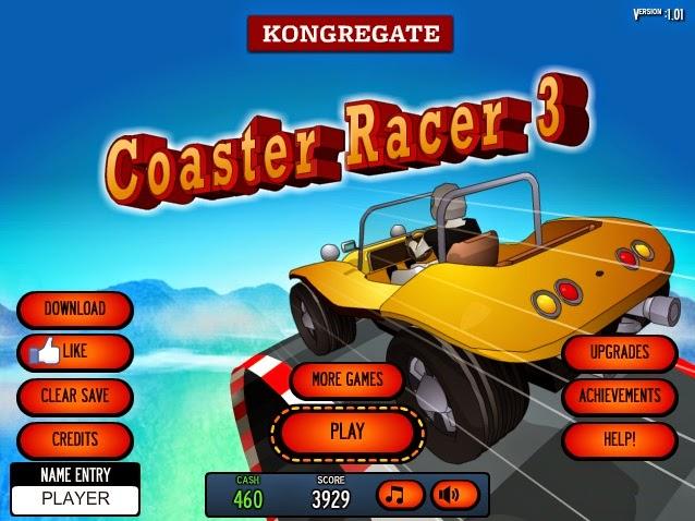 coaster racer 3 gameplay - internetten coaster yarışları oyunu oyna