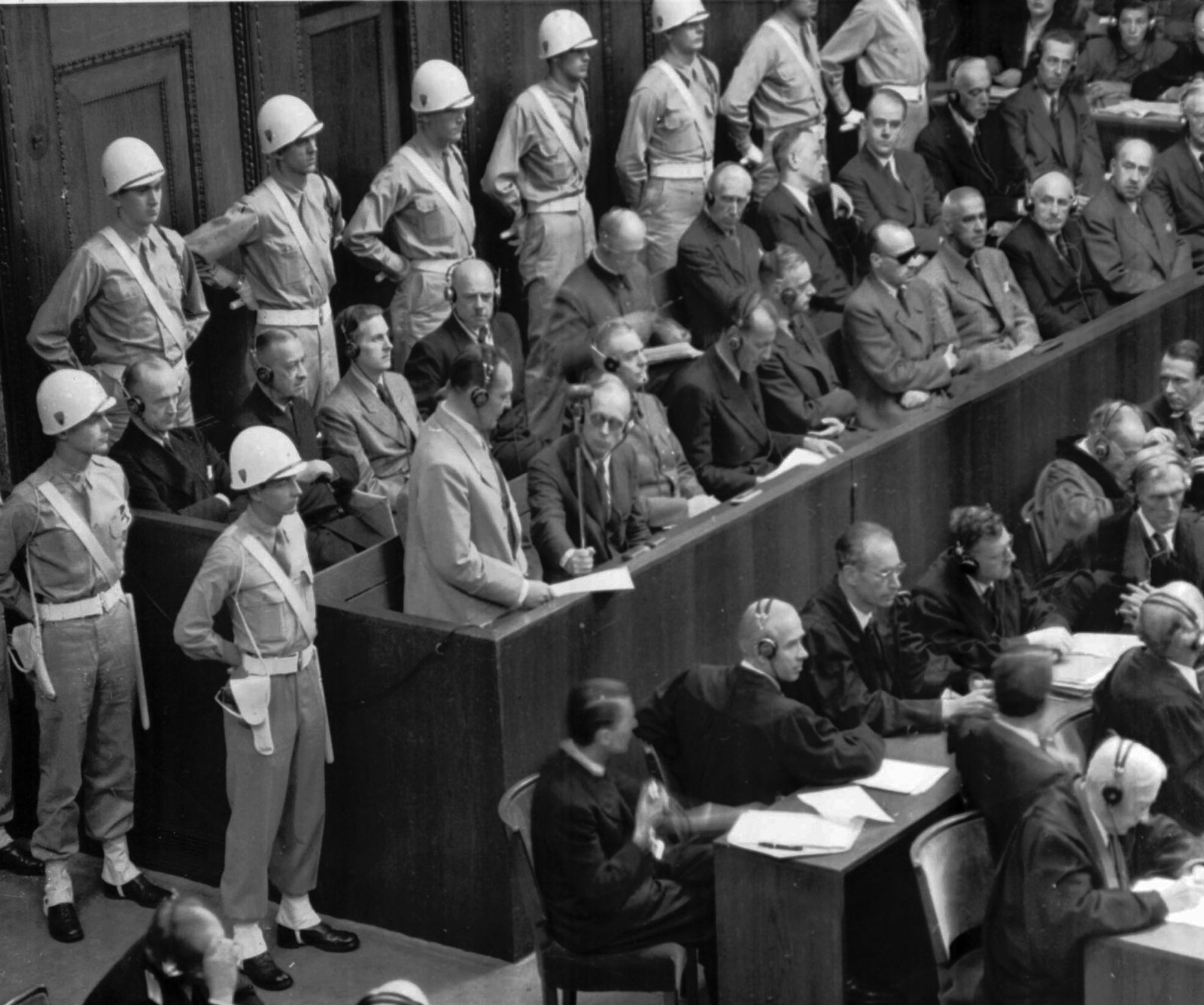 Search thousands of historical documents from the Nuremberg trials.