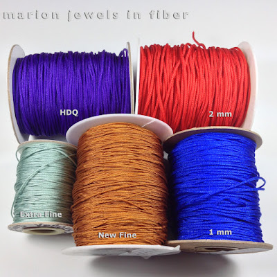 Chinese Knotting Cord on Spools