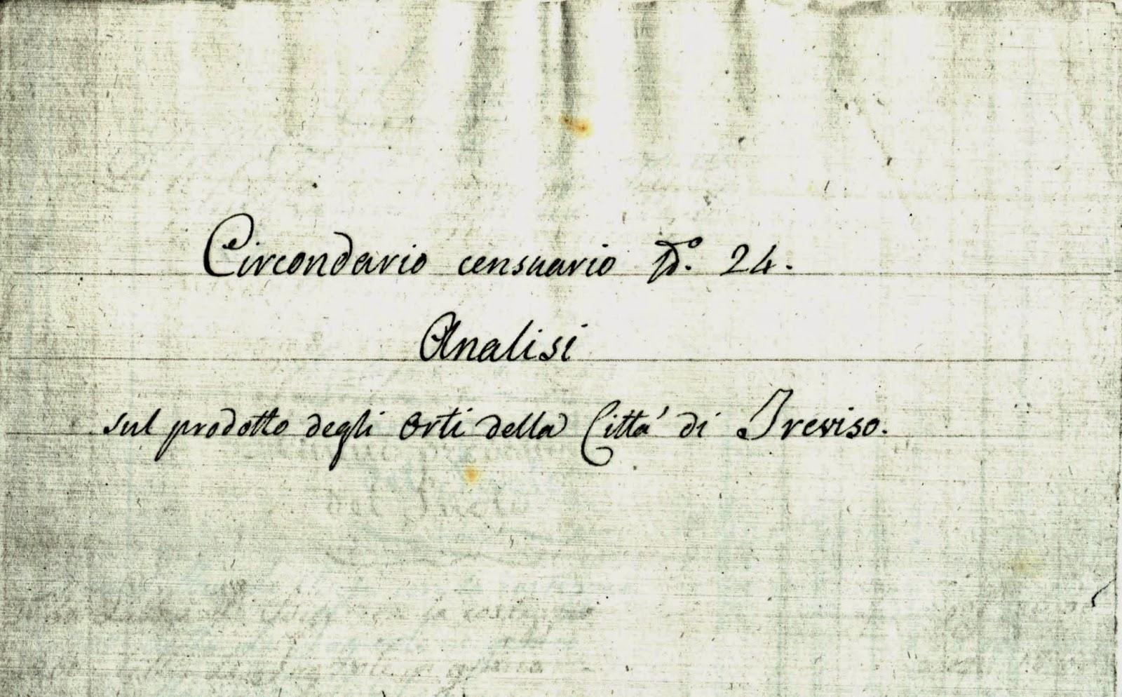 Radicchio rosso di treviso orti urbani a treviso nel 1826 - Produzione mobilifici treviso ...