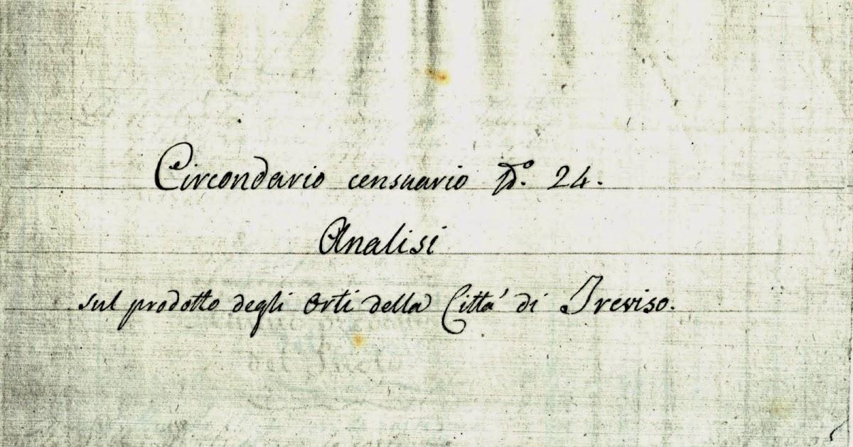 Radicchio rosso di treviso orti urbani a treviso nel 1826 analisi della produzione - Produzione mobilifici treviso ...