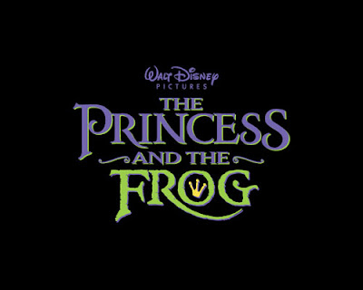 Disney Pixar The Princess and the Frog Logo
