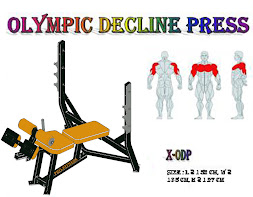 Olympic Decline Press Black
