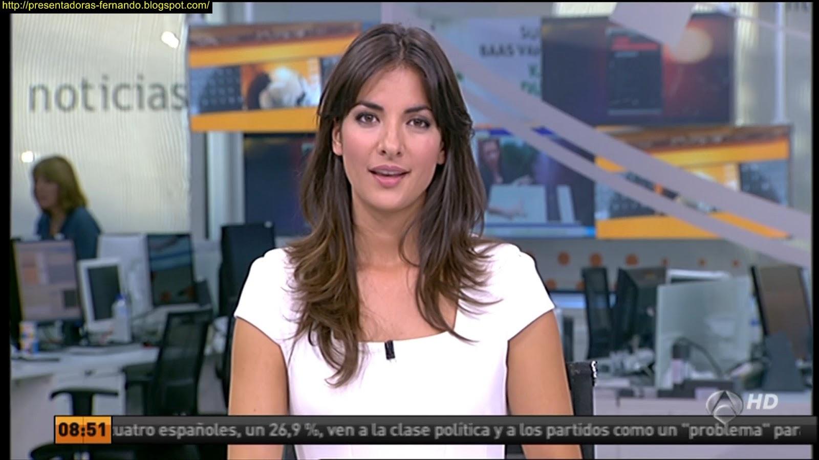 Esther Vaquero a3 Noticias 8-10-2012