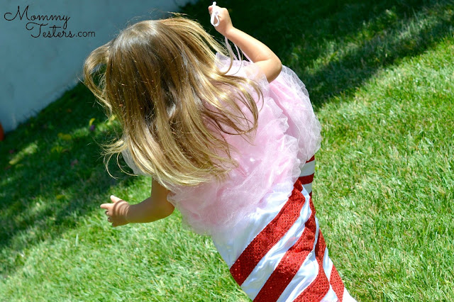 Mommy Testers Chasing Fireflies Halloween Costume, Cotton Candy Halloween Costume #WishCraft