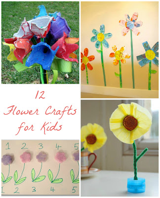 12 spring flower crafts kids co op reading confetti spring flower crafts 1 mightylinksfo
