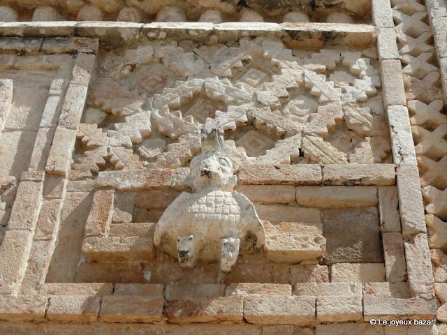 Mexique - site maya  d'Uxmal