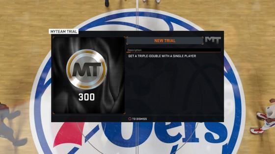 NBA 2k16 MyTeam Trials