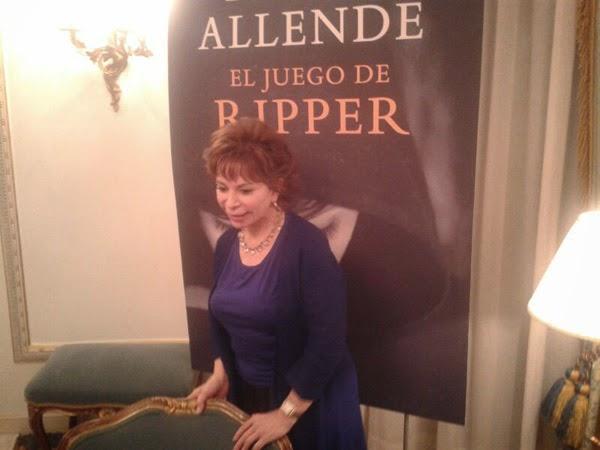 Isabel Allende en ESpaña