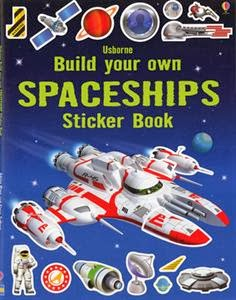 Build your own Spaceships Sticker Book!