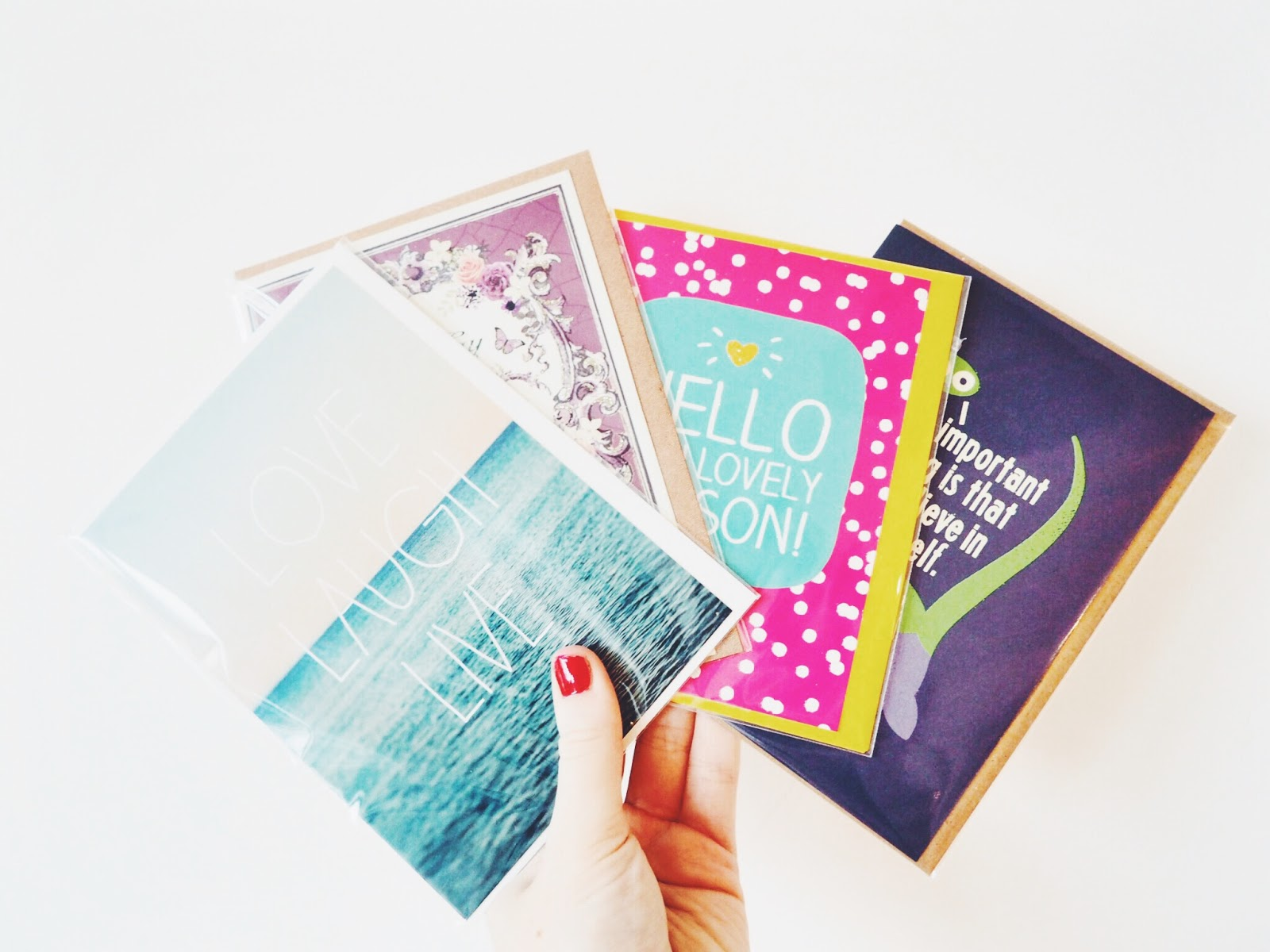 Paperchase Lovin' & A Belated New Years Resolution