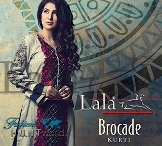 Lala Brocade Kurti 2015