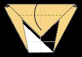Cara Membuat Origami Wajah Kuda