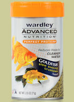 wardley goldfish sinking food