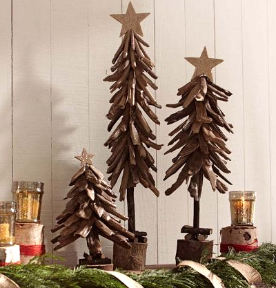 driftwood trees Pottery Barn Kids