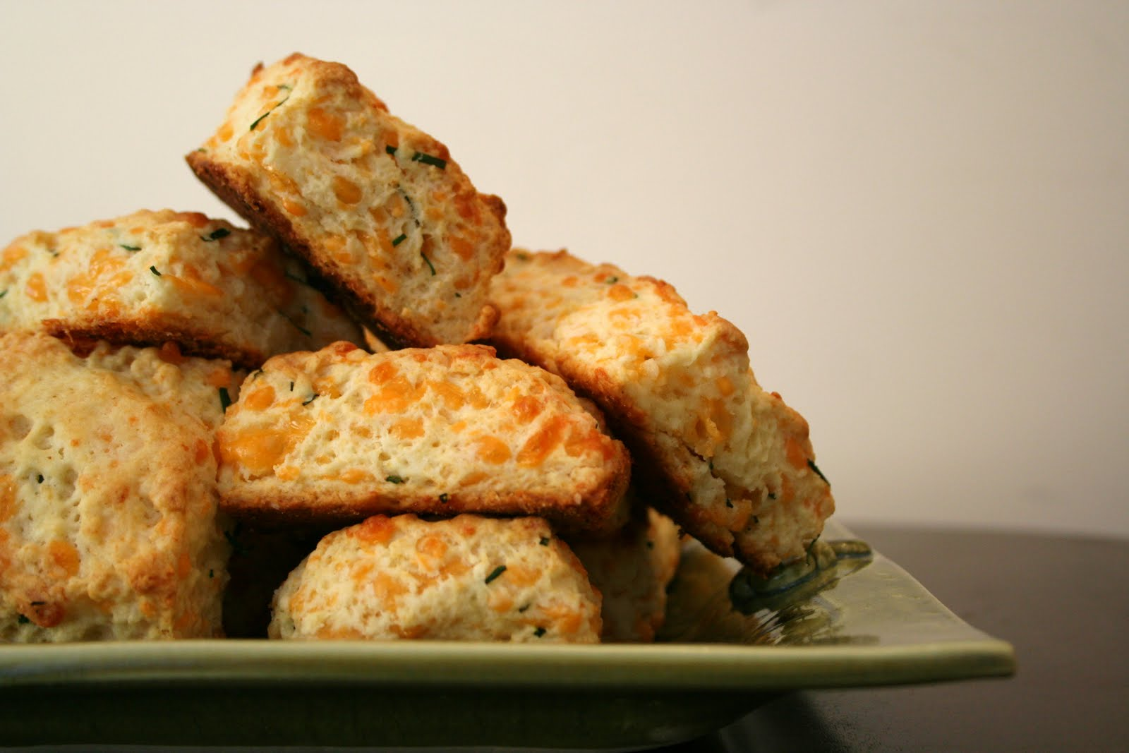 ... without herbs just cheddar cheddar biscuits ham are a perfect match