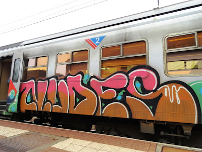 Graffiti on the Train