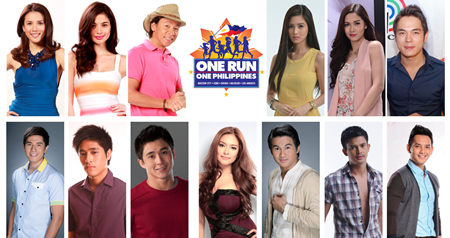 Star-Studded 'One Run, One Philippines' All Set on October 6 in 5 Cities