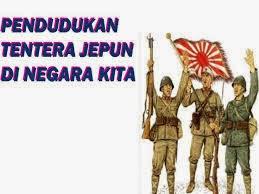 Pendudukan Jepun Di Negara Kita