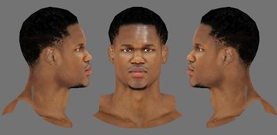 NBA 2K14 Ben McLemore Next-Gen Face Mod