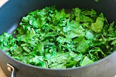 Kale and Feta Breakfast Casserole from KalynsKitchen.com