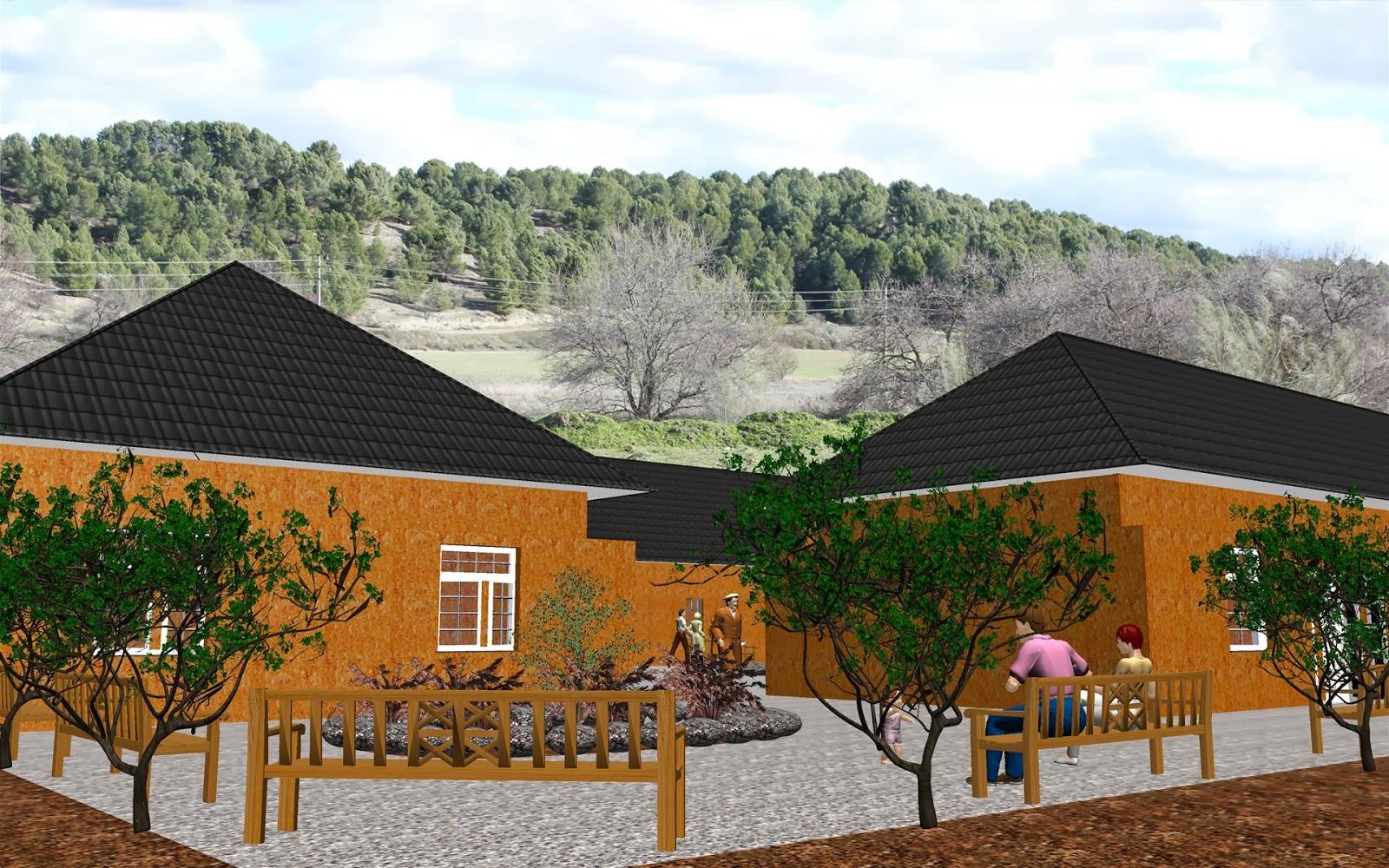 Arte y jardiner a empresa dise o de jardines en 3d 7 0 for Residencia torres de la alameda