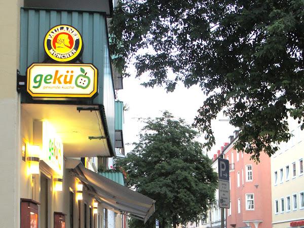 Gekü in München - allergiefrei Essen!