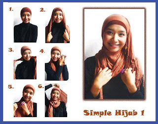 Trend Jilbab 2013 - Model Kreasi Jilbab Kuliah Modis