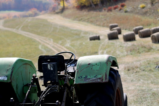 """""""I can take you for a ride on my big green tractor..."""""""