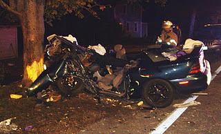 Allen Collins Car Accident Photos