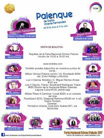 Feria gómez Palacio 2017