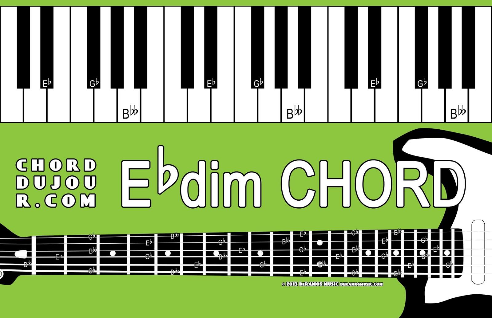 Chord Du Jour Dictionary Ebdim Chord