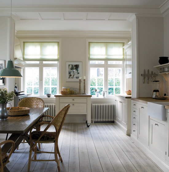 Timeless Kitchen With Old White Farrow And Ball On The: CHALK & TALK: Paint It White