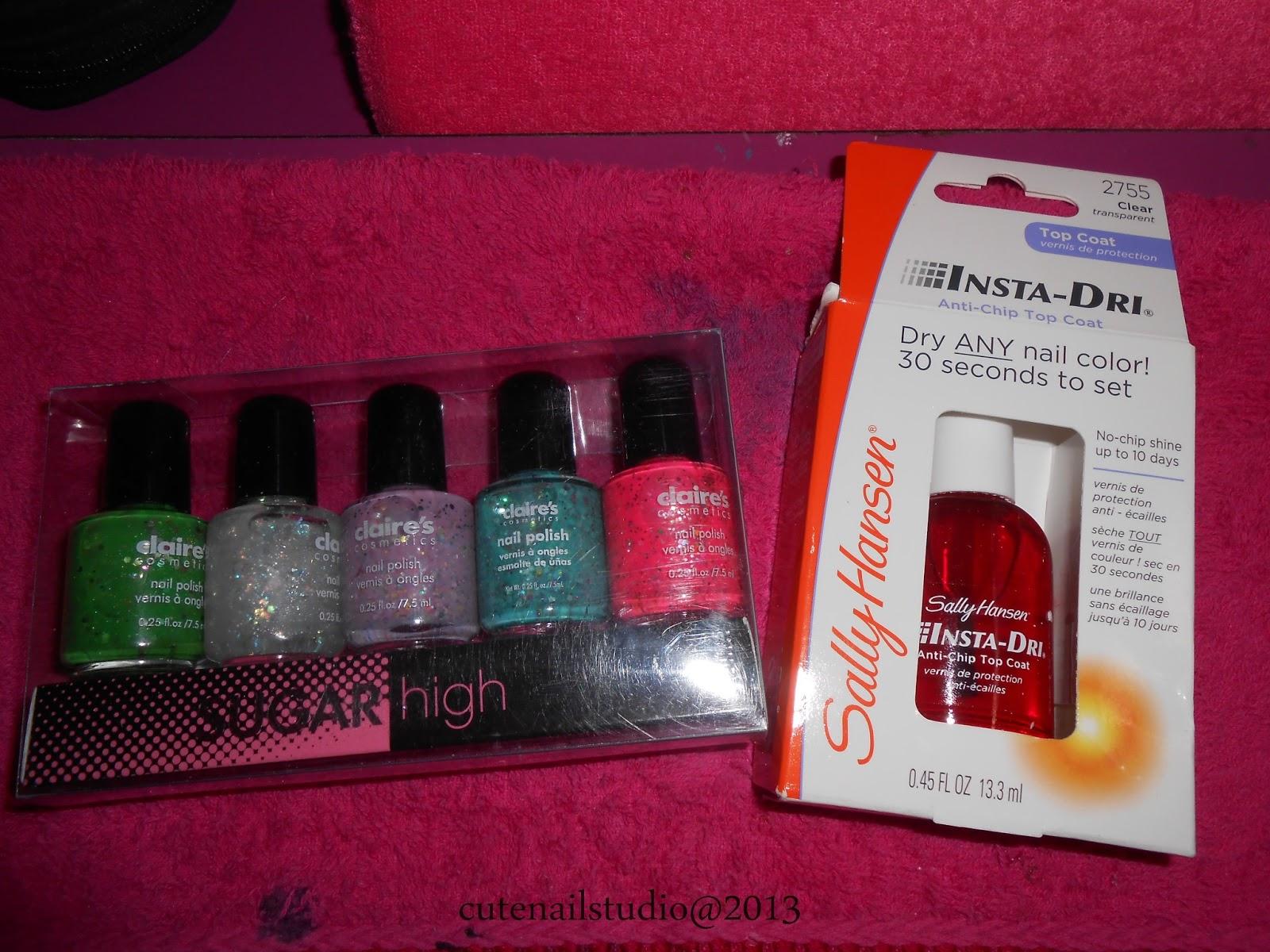 Cute nails: My polish haul