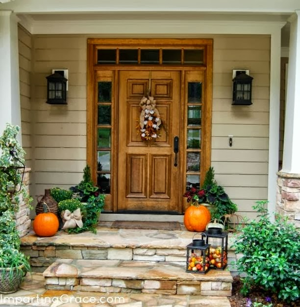 Fall Front Door D Cor Ideas Dreams House Furniture