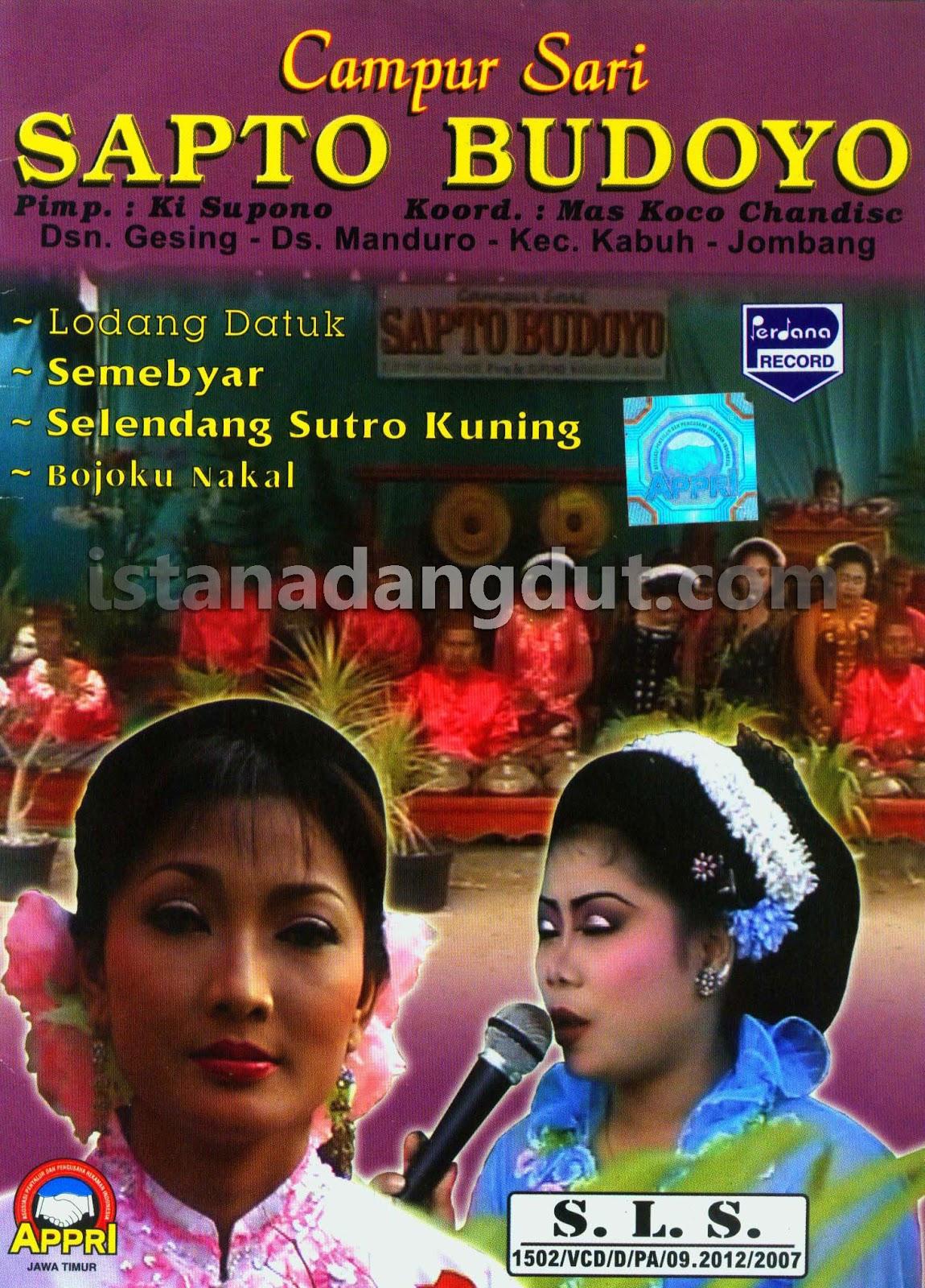 gamelan jawa, kesenian tradisional jawa, indonesian etnic music, cover album campursari, sapto budoyo, uyon uyon, langgam jawa asli