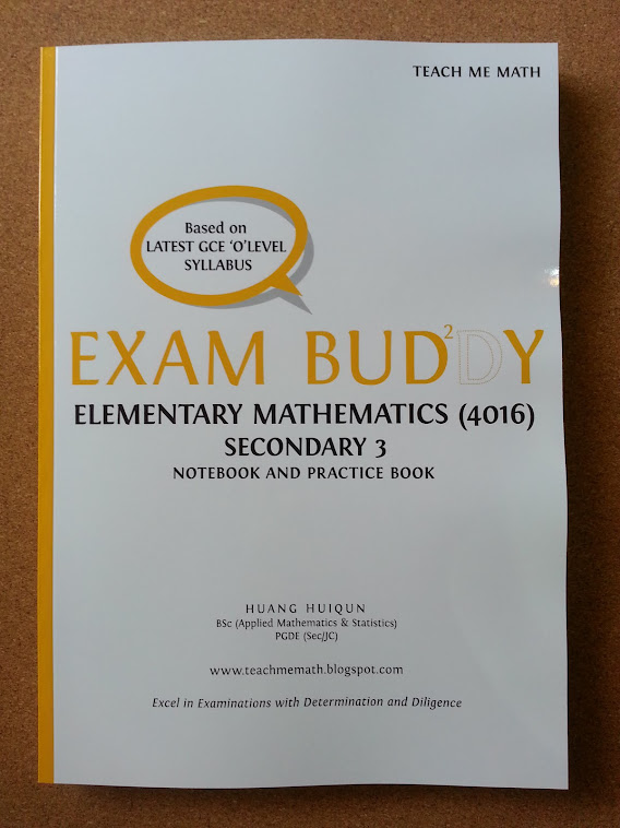 Exam Buddy (E Math Sec 3) 2nd Ed, 2nd Print