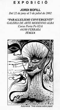 2002. EXPOSICIÓN.ALBA GALLERY. FERRARA. ITALY.